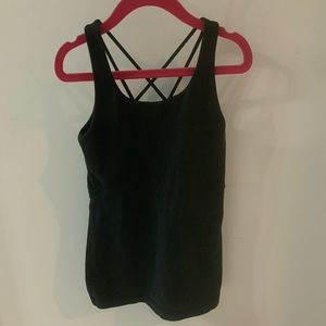 Girls Black Ivivva tank
